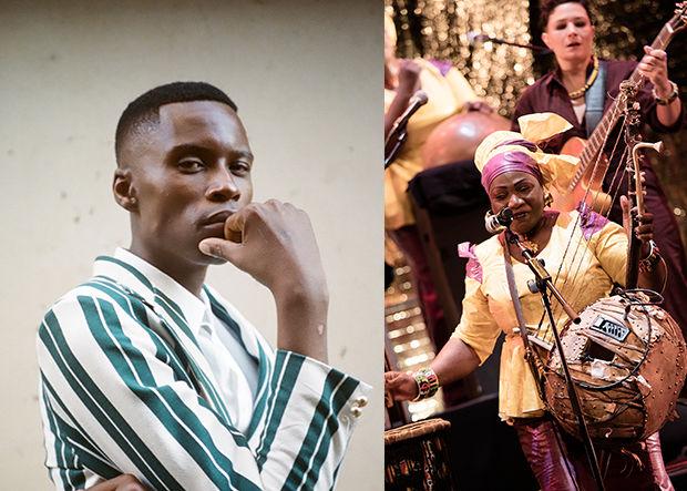 Bongeziwe Mabandla + Kogoba Basigui