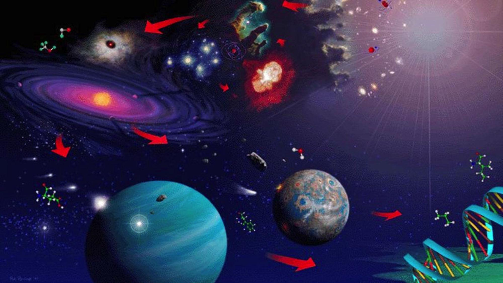 L'univers moléculaire