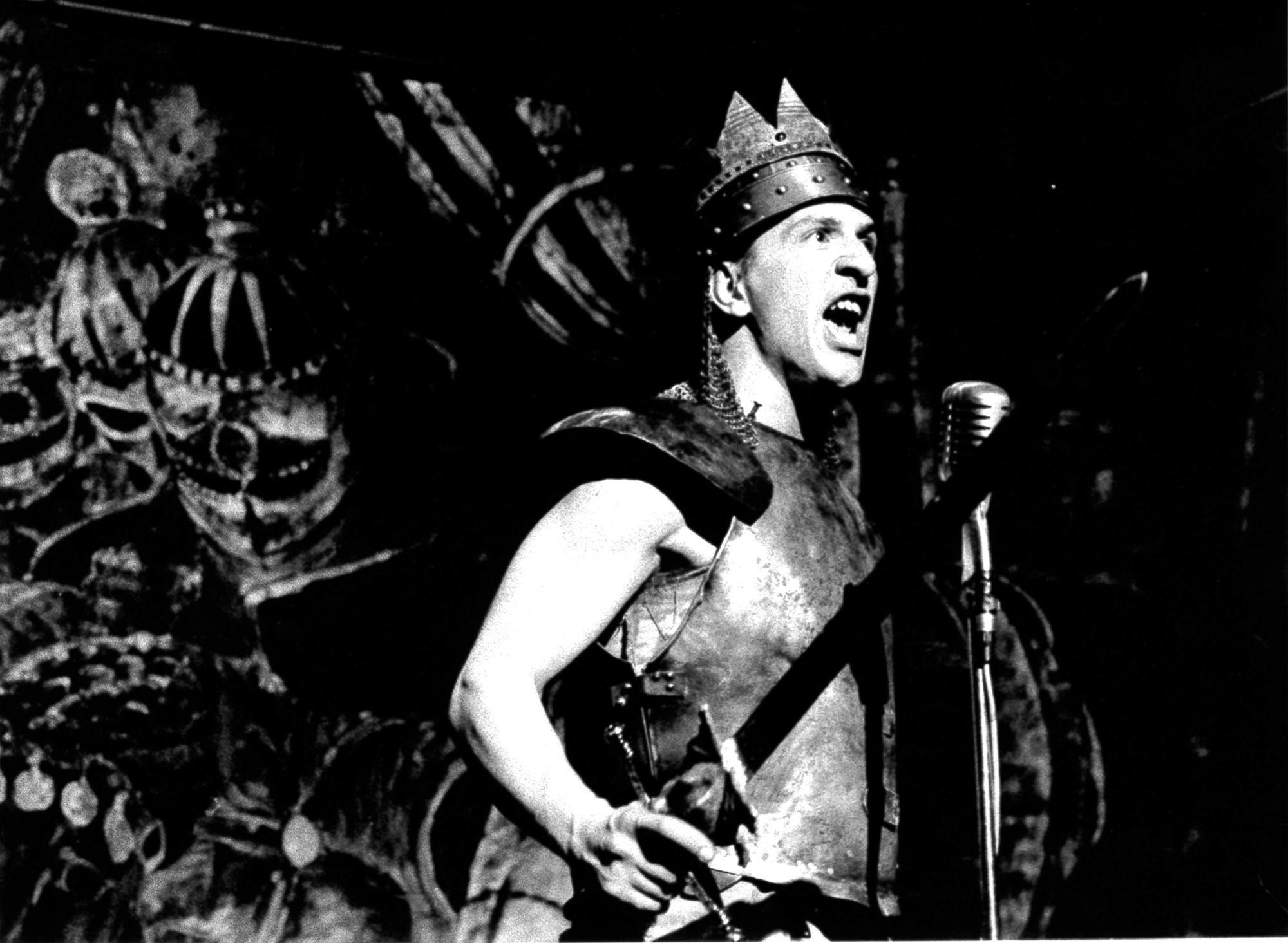Marcial Di Fonzo Bo dans le rôle de Richard III en 1995