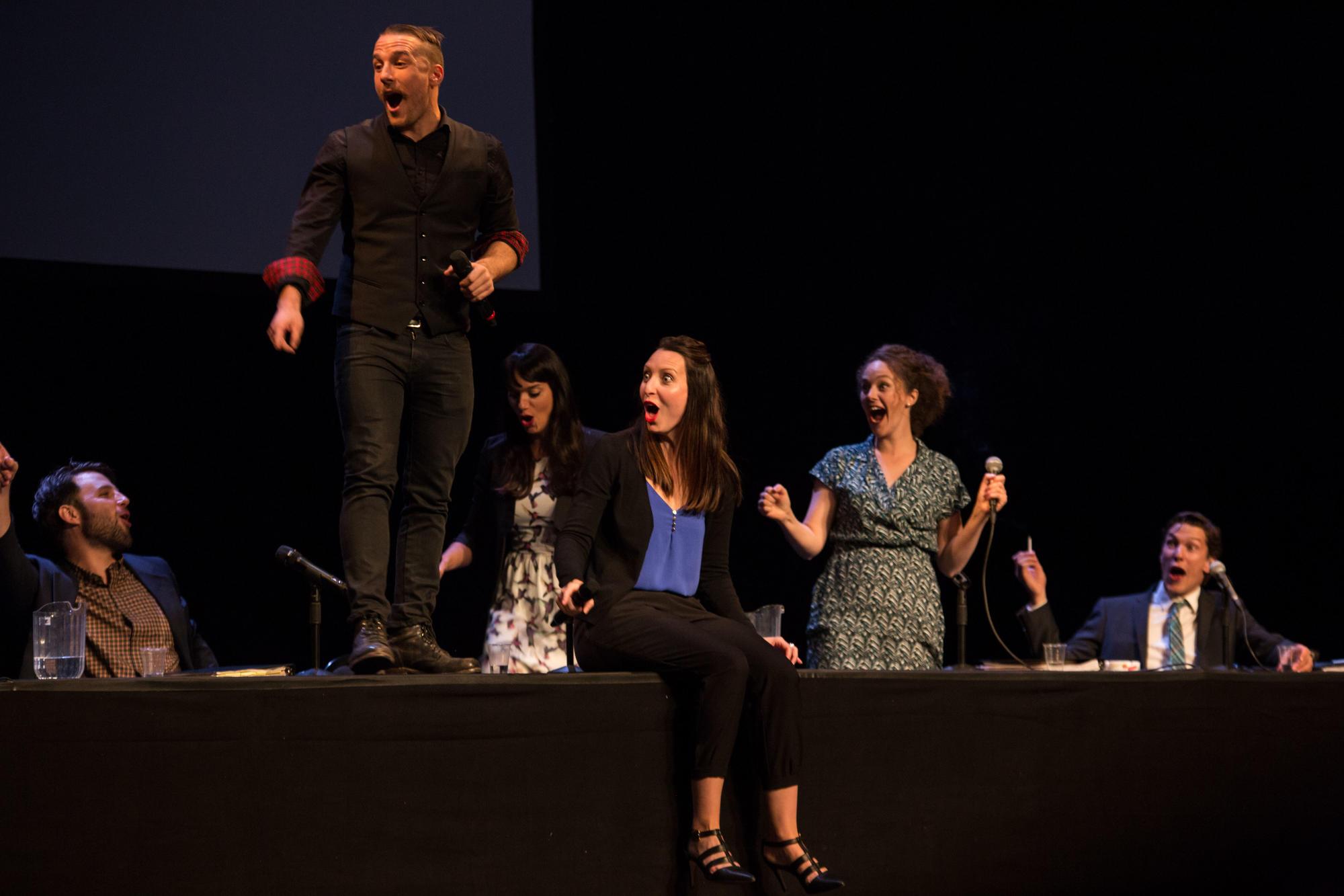 Le NoShow par le Collectif Nous Sommes ici et Théâtre DuBunker / Alexandre Fecteau