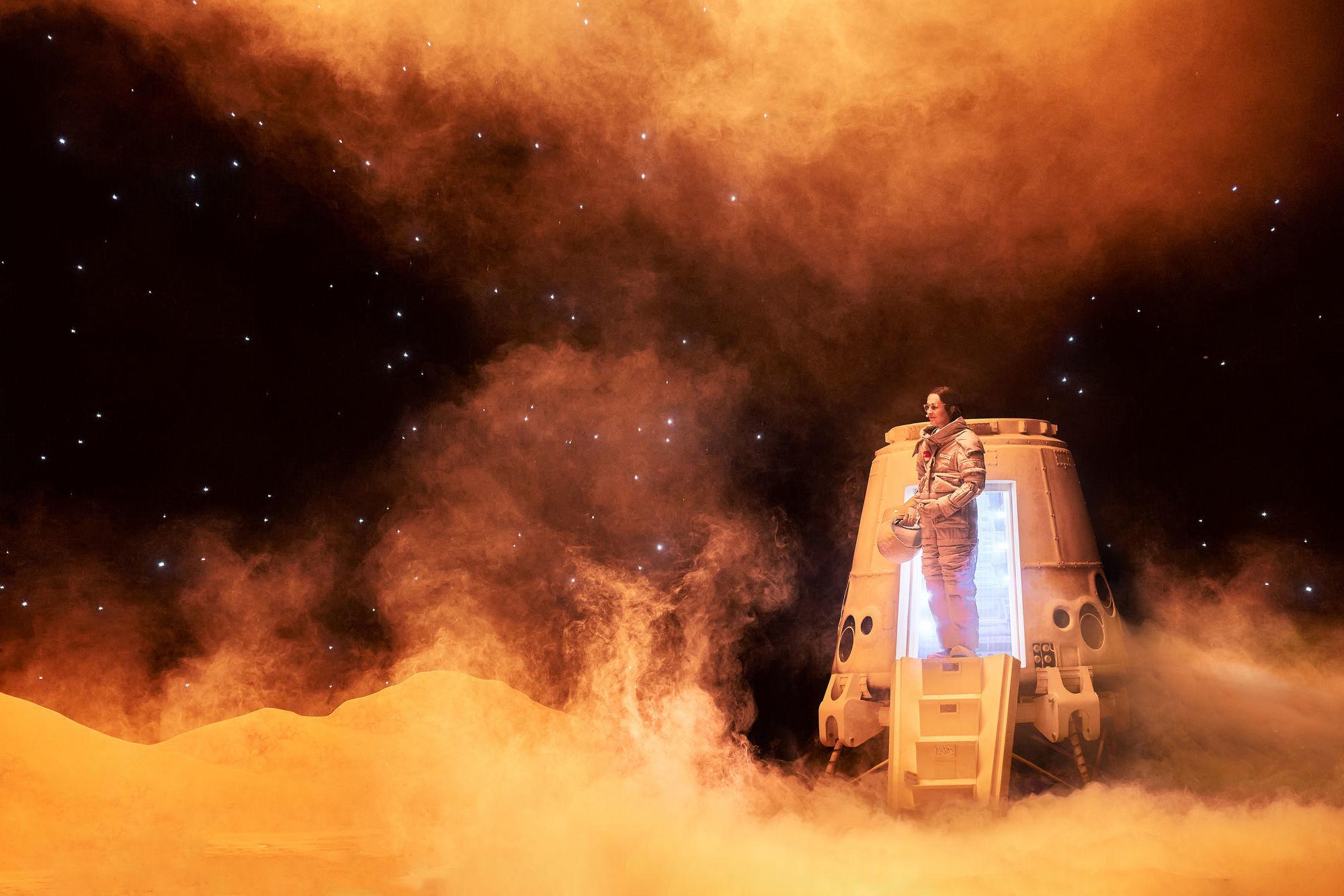 Mars-2037 comédie musicale spatiale