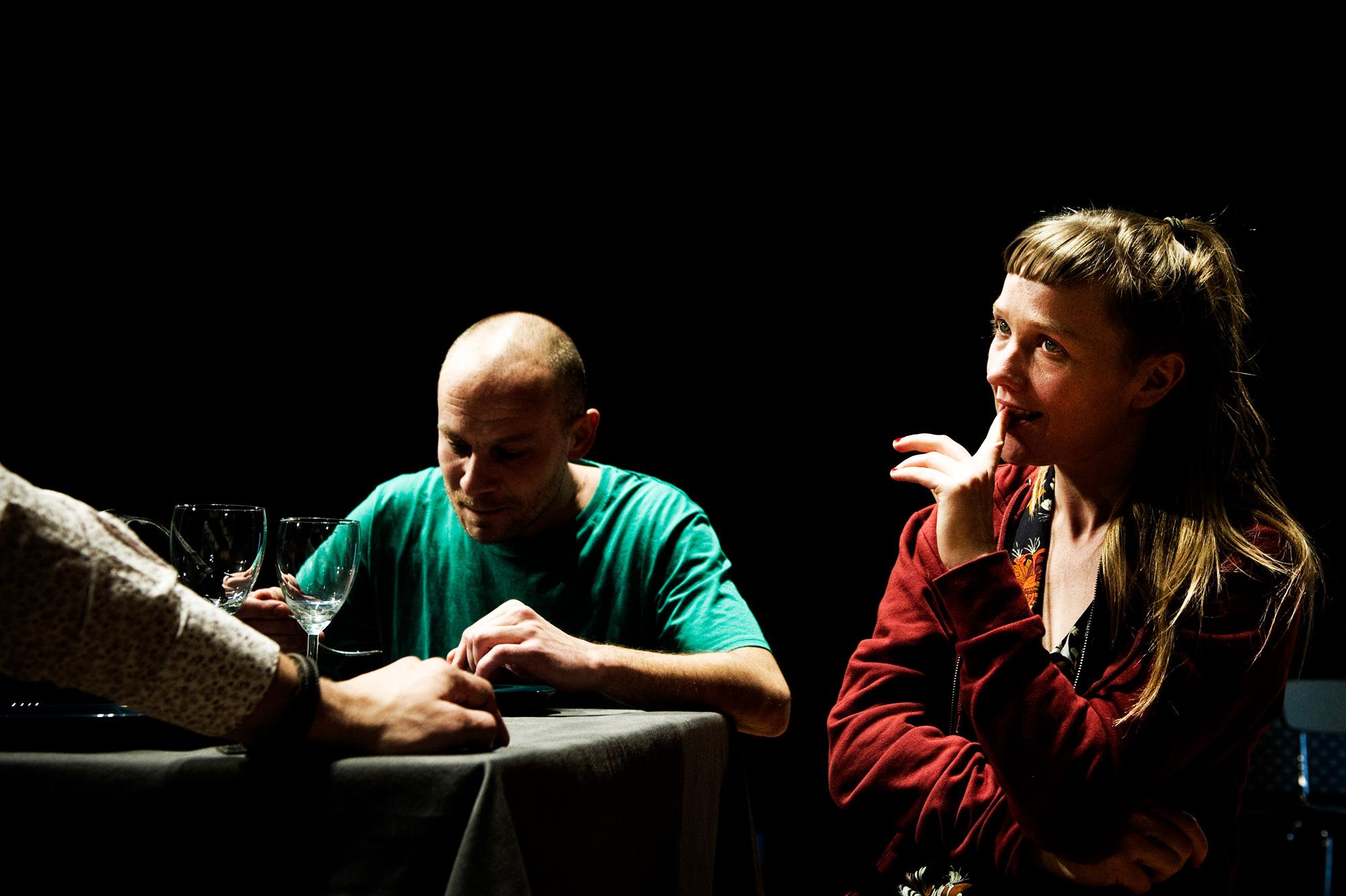 Orphelins / Collectif La Cohue avec Dennis Kelly,  Martin Legros et Sophie Lebrun