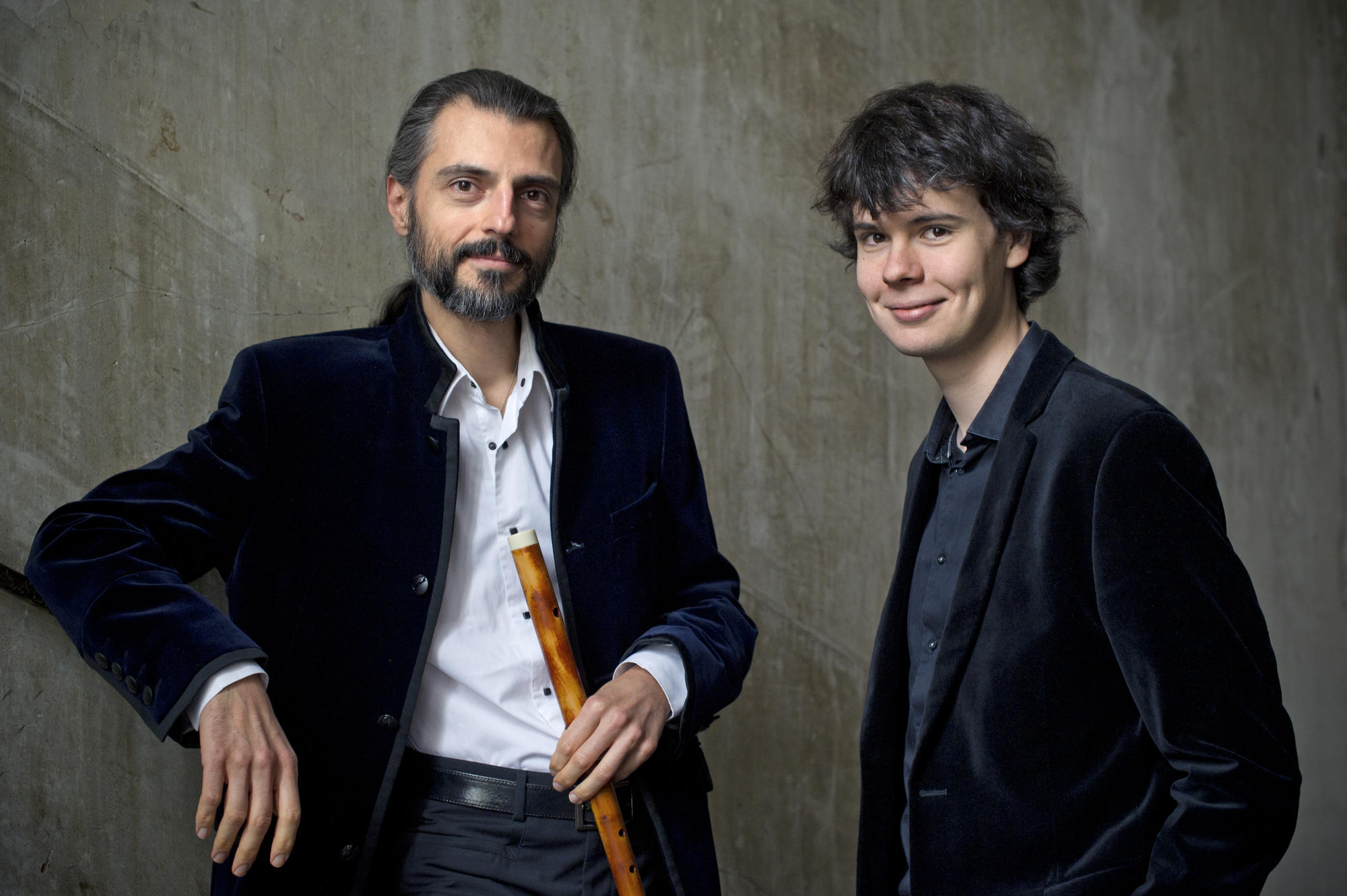 François Lazarevitch (flûte) et Justin Taylor (clavecin)