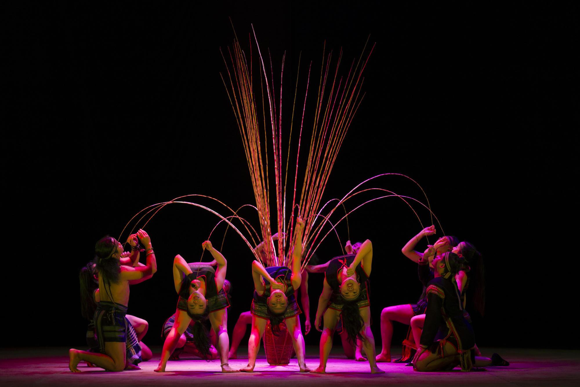 Teh Dar Nouveau cirque du Vietnam