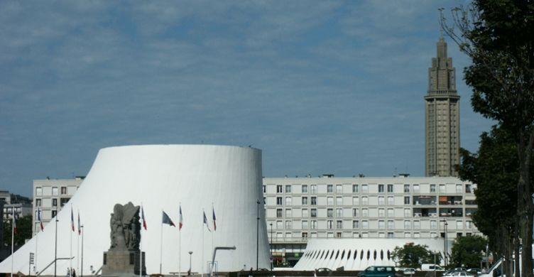 Inauguration de l'Espace Oscar Niemeyer (futur Volcan)