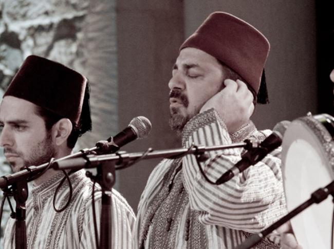 Noureddine Khourchid  & les derviches tourneurs de Syrie